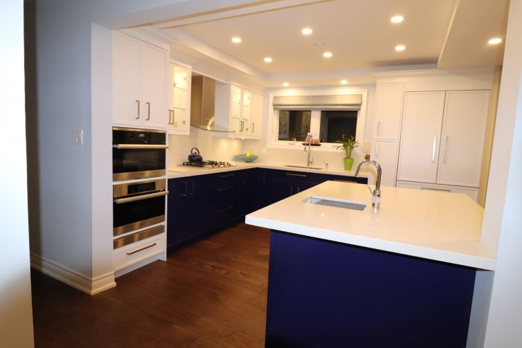 Royal Blue Kitchen